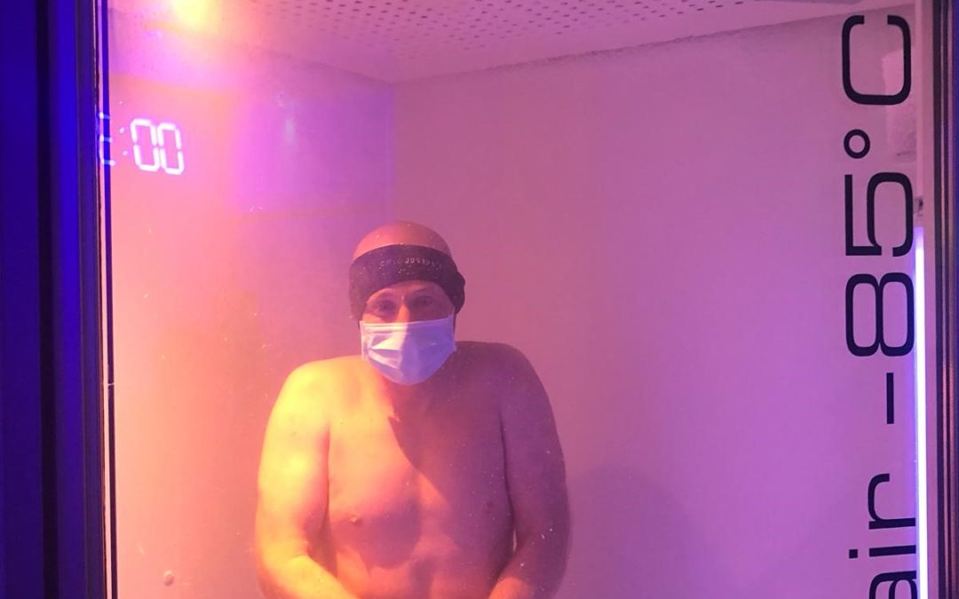 Jon has Cryotherapy