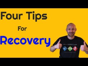 four tips for recovery